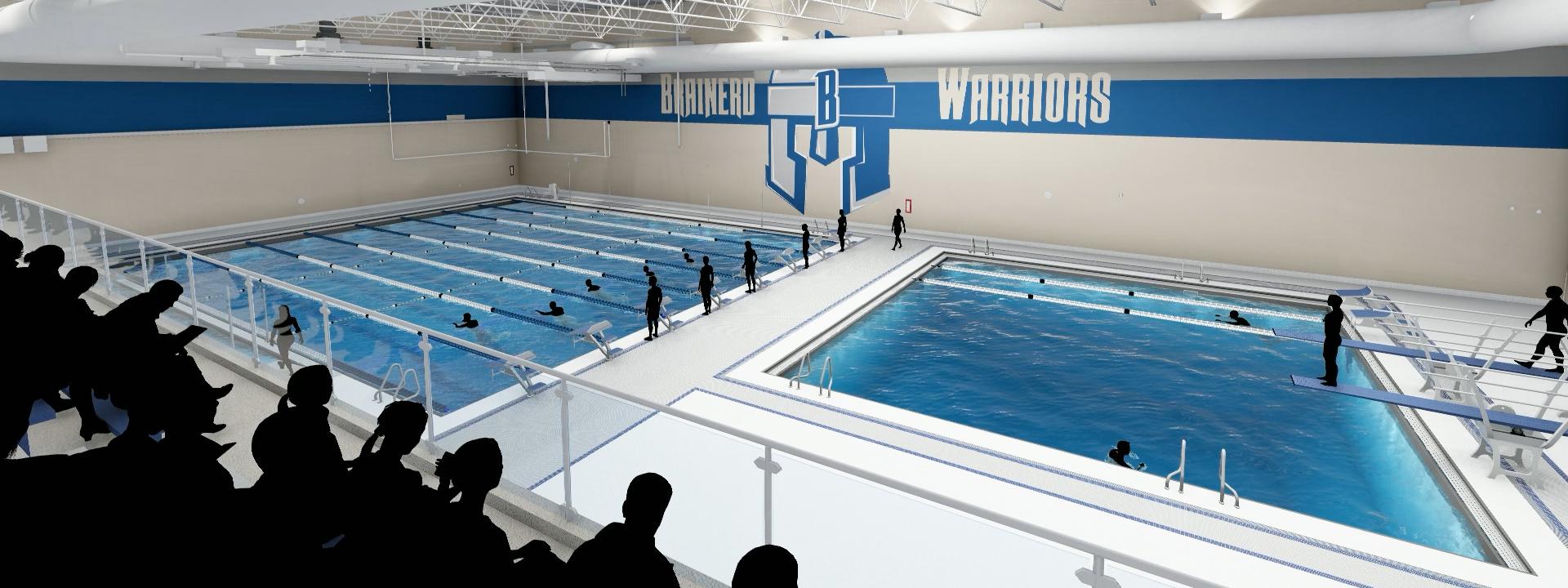 Brainerd High School Swimming Pool, Widseth, K-12 Design