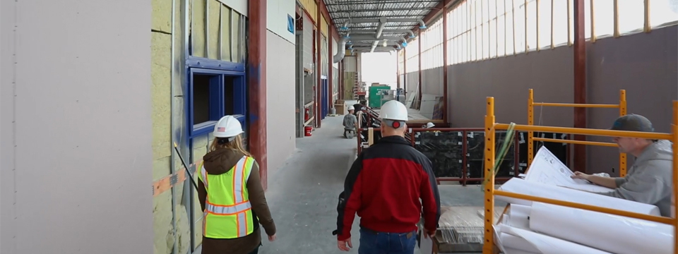Baxter Elementary School Construction Update with Widseth's Lindsey Kriens